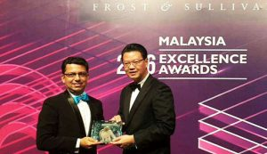Frost & Sullivan Excellence Awards 2016