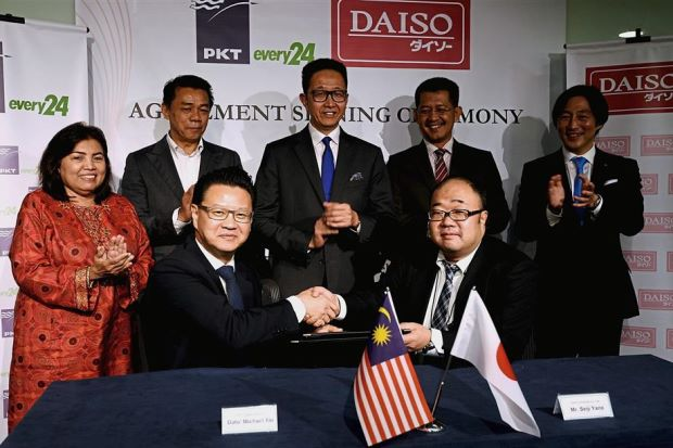 Daiso to set up regional distribution centre in Malaysia