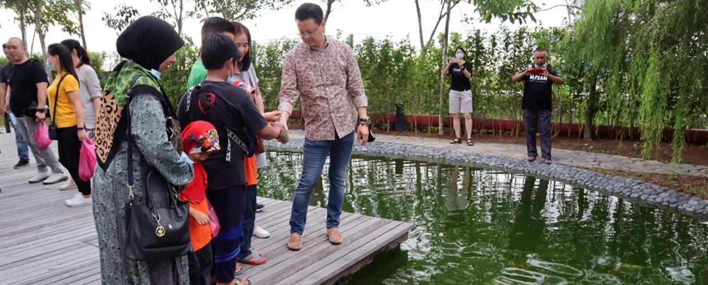 Zen garden draws local visitors