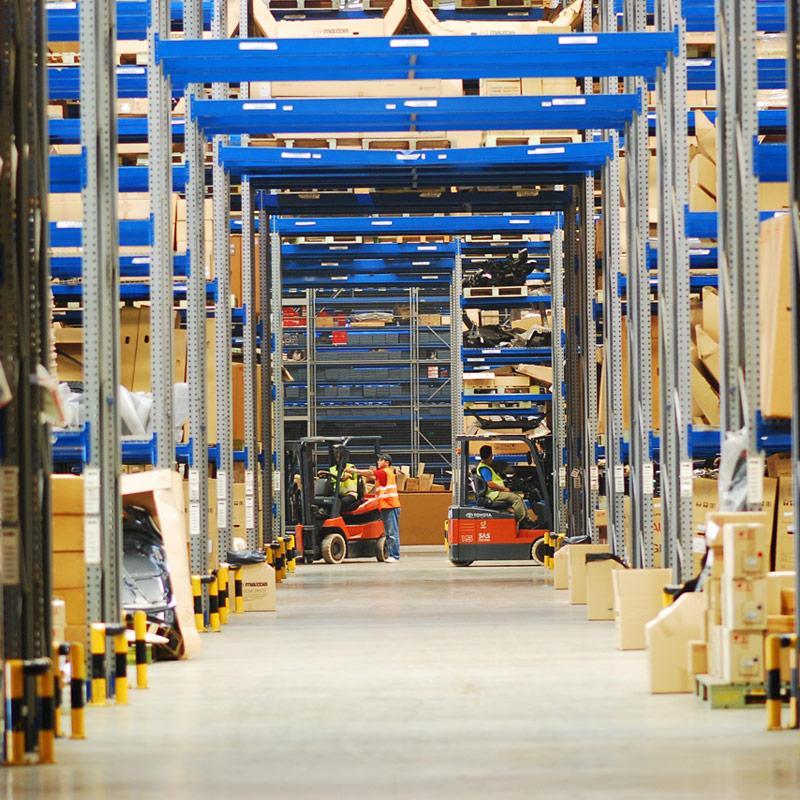 Green Concept Warehouse Design